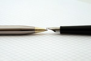 sfera vs stilografica