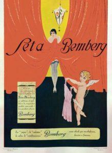 1929 Silk stockings Bemberg. Stoffa: seta