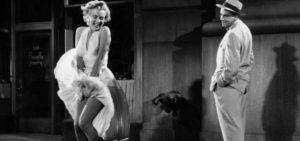 """Marilyn Monroe in """"Quando la moglie è in vacanza"""""""