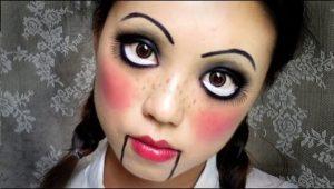 trucco bambola assassina
