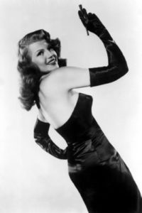 "Rita Hayworth nel film ""Gilda"""