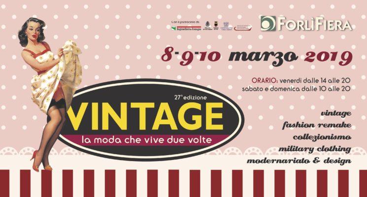 Vintage! La moda vive due volte