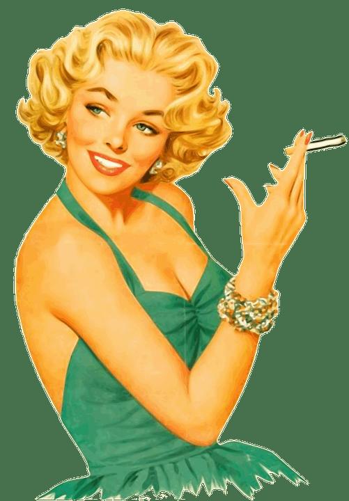 abbigliamento vintage donna 50