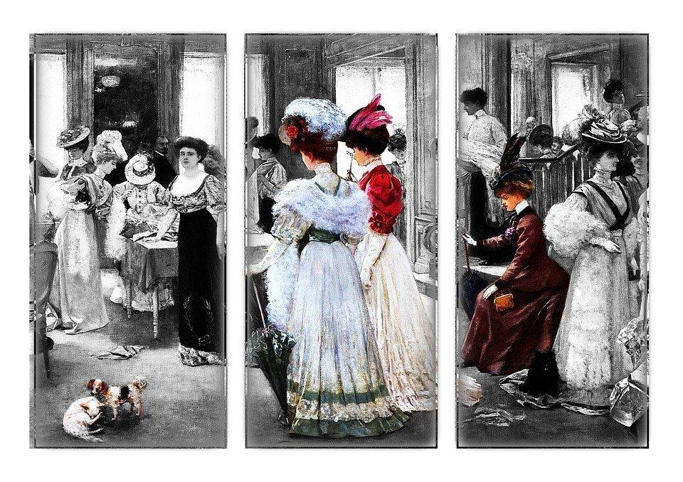 abbigliamento vintage donna