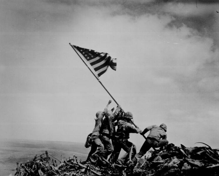 Iwo Jima nel 1945, la conquista