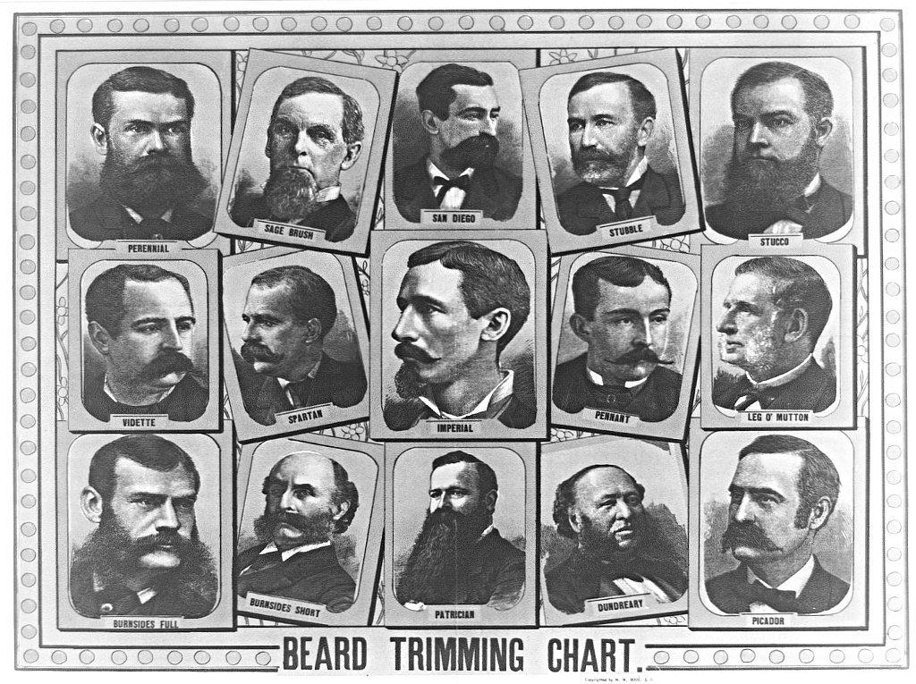 barba anni 30