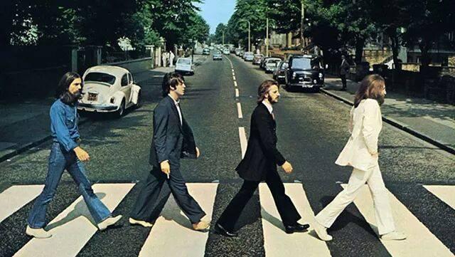 foto storica Beatles