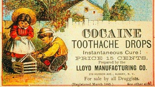 Cocaina per il mal di denti