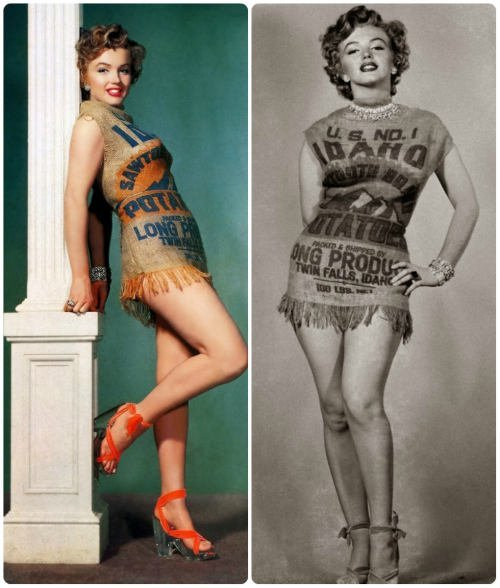 immagine storica Marilyn Monroe