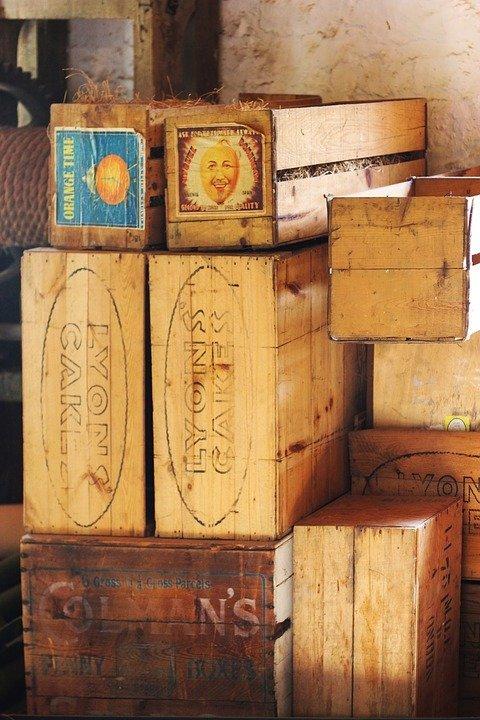 decorare cassette di legno